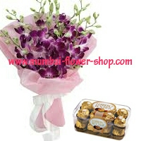 online Lily ,orchit,carnations delivery to kanpur