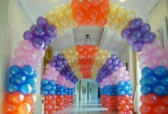 Any color balloon decoration in kanpur