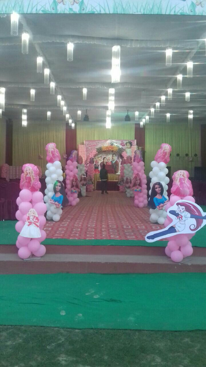 Top balloon decoration in kanpur