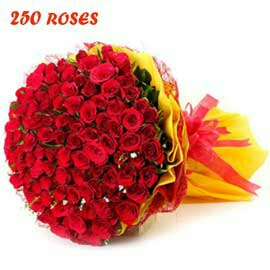 amazing Red Rose bunch delivery in kanpur