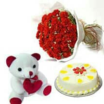 mother's day cake flower delivery in kanpur