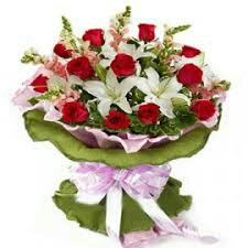 Argent mother s day gift flower greeting card delivery in kanpur
