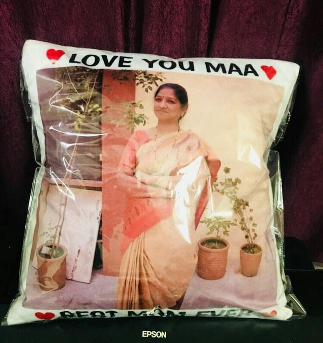 mother s day photos pillow kanpur