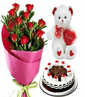 father s day combos cake flower delivery in kanpur