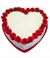 Valentin day cake delivery in kanpur
