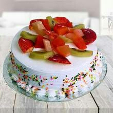 Valentin day cake flower cake flower delivery in kanpur