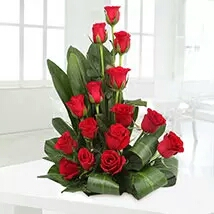 Valentin day flower delivery in kanpur