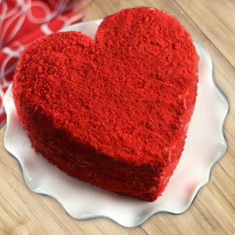 valentine day cakes flowers in Kanpur