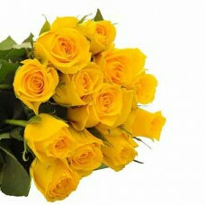 yello Rose Bunch Delivery in kanpur
