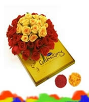 be valentine 500 Rose bunch delivery in kanpur