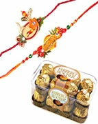 Rakhi delivery in kanpur sweet chocolate