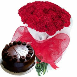 Teddy cake combo delivery in kanpur