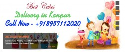 Kanpur Cake And Flowers